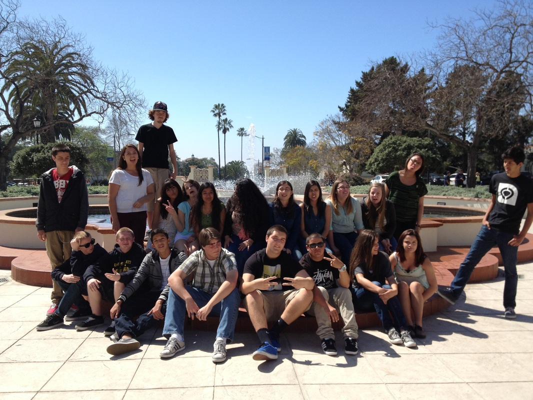 AVID College Trip to USD